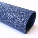 Sieťka pod kryt diskantu modré kvety